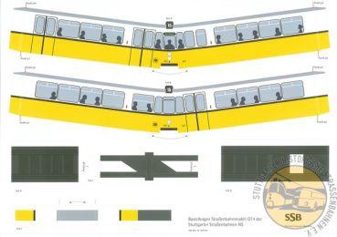 Stuttgarter Historische Stra Enbahnen E V Karton Modellbau