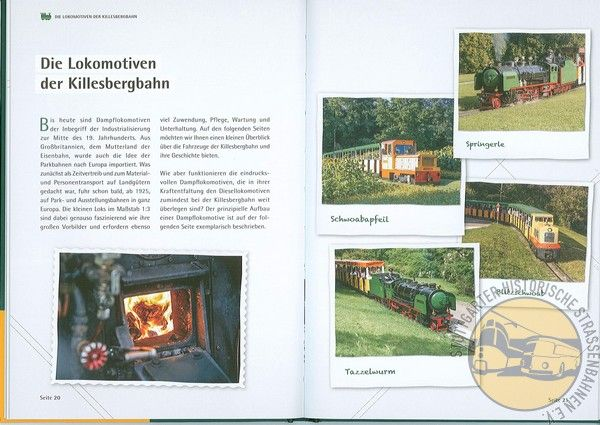 "Buch ""Faszination Killesbergbahn"""